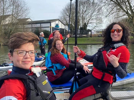 REDy, Set, Paddle with a Pal for RED January 2021