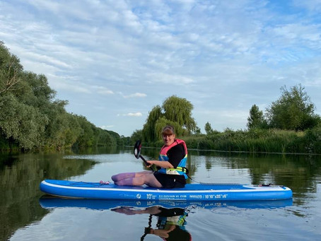 Paddleboarding for all - @thesitdownpaddleboarder