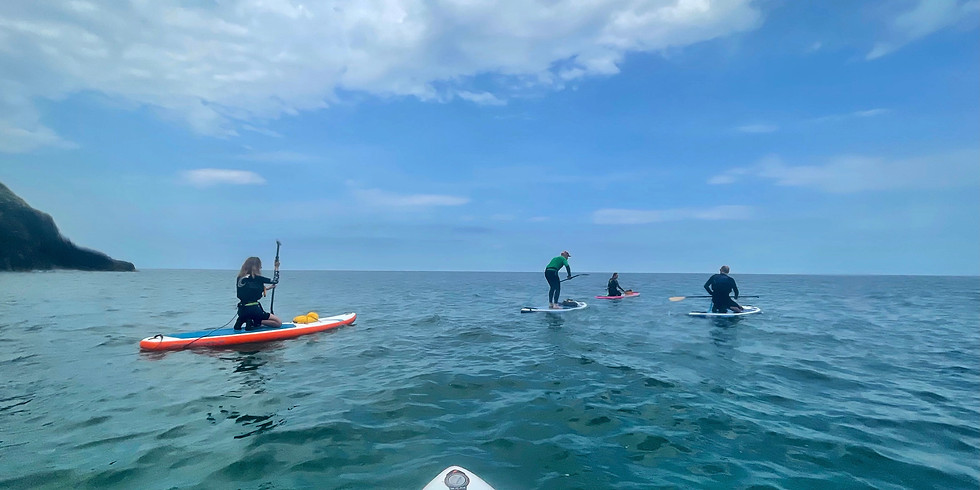 Wales SUP Adventure with Heron and Hush & Daddyboards