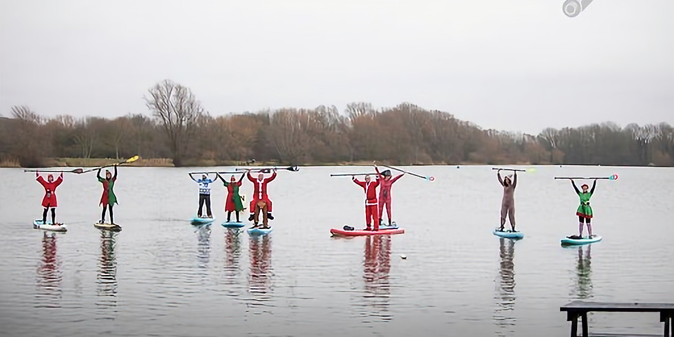 Heron and Hush's Festive Fancy dress charity paddle  (Own equipment essential. leash is mandatory)