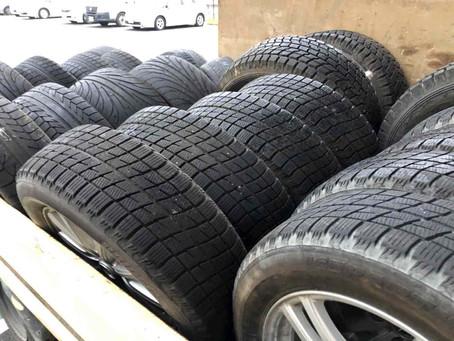 古いタイヤの廃棄や処分!どうしていますか?