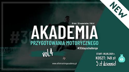 Akademia Przygotowania Motorycznego vol. 4