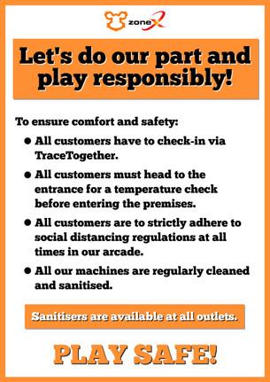 Play Safe, Play Responsibly