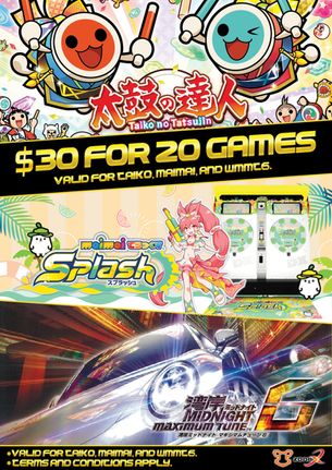 $30 for 20 Games Promotion