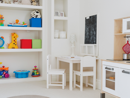 Simple Steps to an Organized Playroom