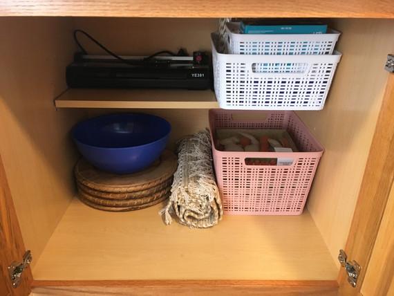 Kitchen Cabinet After