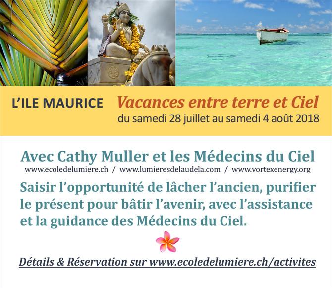 Vacances spirituelles à l'Ile Maurice