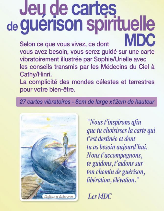 Cartes de guérison spirituelle MDC