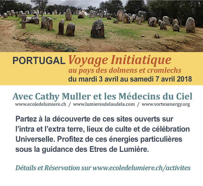 AVIS : Voyages spirituelles 2018