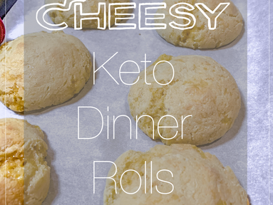 Stuck At Home: Cheesy Keto Dinner Rolls