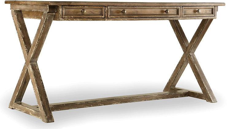 "Boone Farmhouse ""X"" Desk"