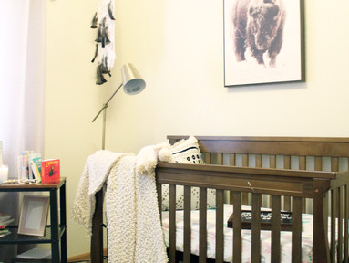 Conquering a Small Space on a Budget (feat. Baby Aspen's Nursery)
