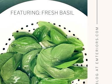 Fresh From The Greenhouse: Smoked Chicken Pesto Pasta
