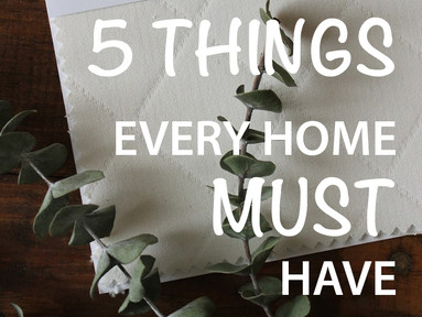 5 Things Every Home MUST Have