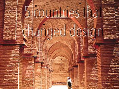 Design Around The World: 5 Countries That Changed Design