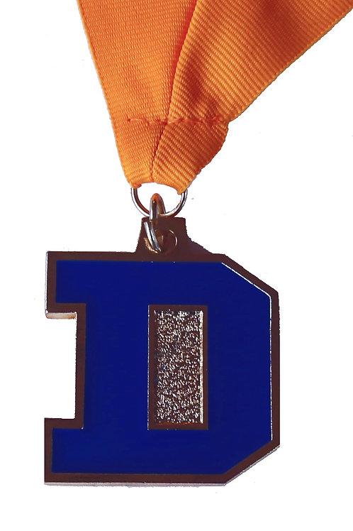 "Durant Big ""D"" Custom Medallion"