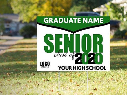 Graduate Yard Sign Option 4