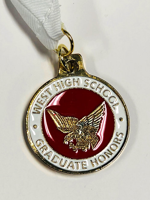West HS Graduate Honors Medallion