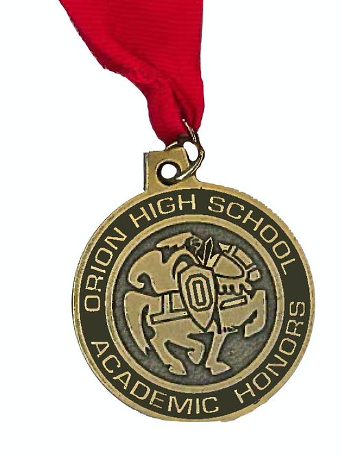 Orion HS Academic Honors Medallion
