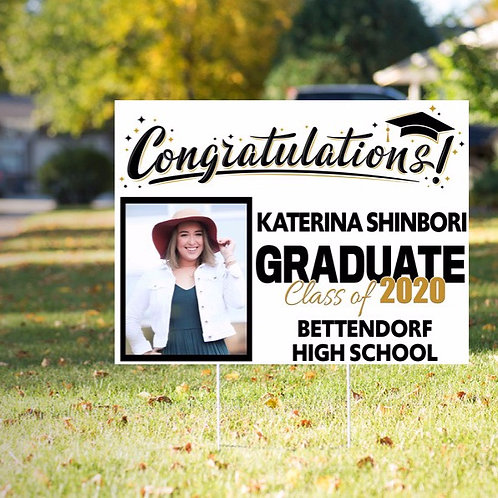 Graduate Yard Sign Option 5