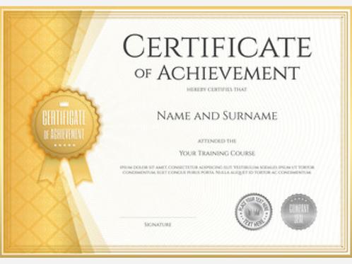 Custom Awards Certificates