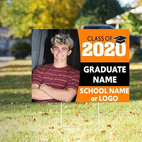 Graduate Yard Sign Option 3