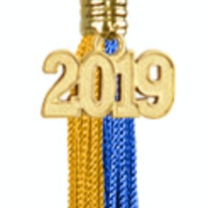 Blue & Gold Honor Tassel