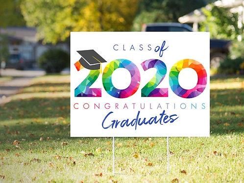Graduate Yard Sign Option 7