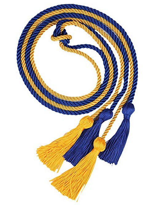 Blue & Gold Honor Cord