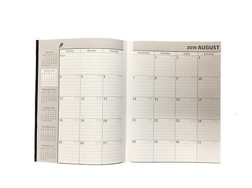One Year Scholastic Calendar