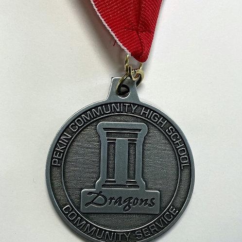 PCHS Community Service  Medal