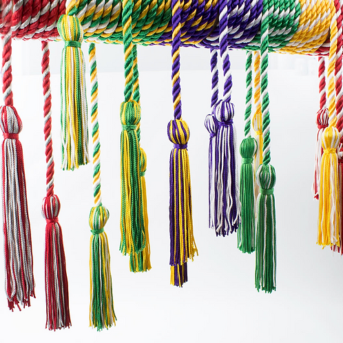 Honor Cords, 2-Color Intertwined