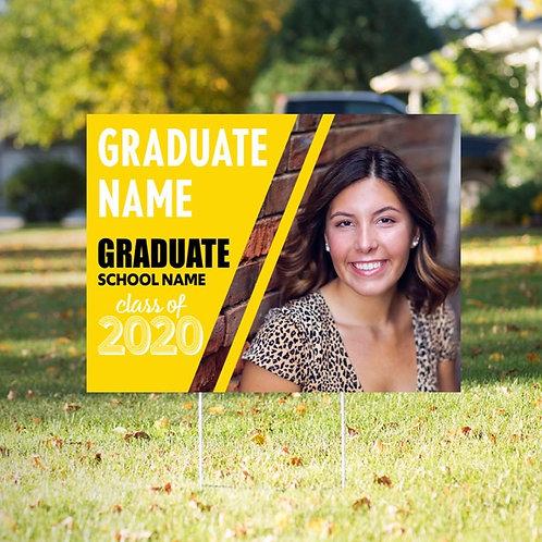 Graduate Yard Sign Option 1