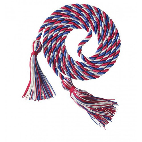 Red, White & Blue Honor Cord