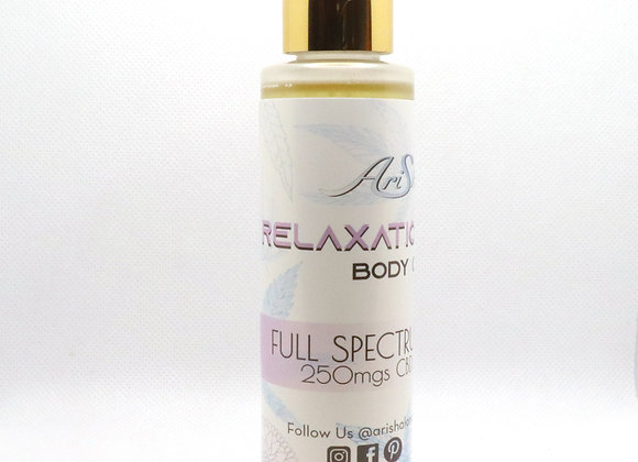 Relaxation Body Oil (120 ml, 250 mg CBD)