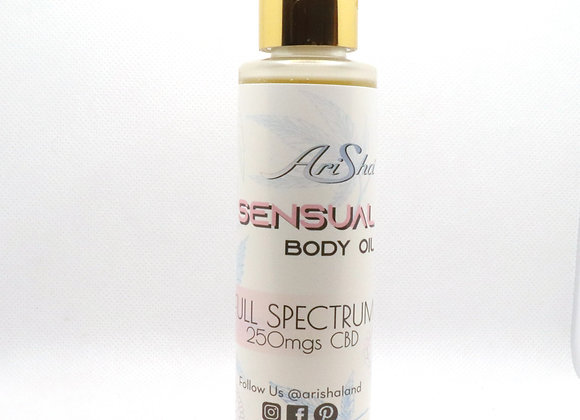 Sensual Body Oil (120 ml, 250 mg CBD)