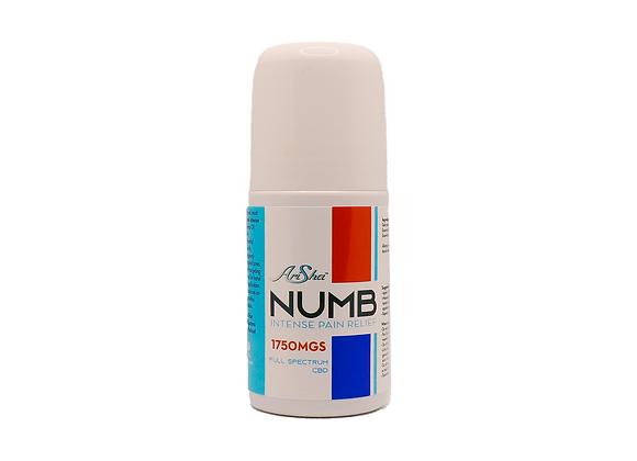 Numb: Intense Pain Relief (1750 mgs Full Spectrum CBD)