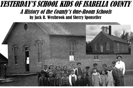 """""""Yesterday's School Kids of Isabella Country"""" Book"""