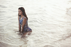 Model in the Water