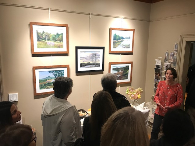 Art Talk at Edward Hopper House, November 2019 Resident Artist