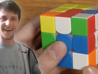 Feliks Zemdegs Canlı Yayında 3x3 Rubik Küpü 3.28 Saniyede Çözdü!