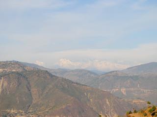 Snow peaks from Biyasi