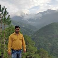 Pangot valley behind.