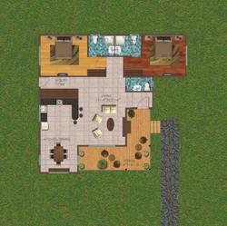 2 Bedroom 1487 sq ft