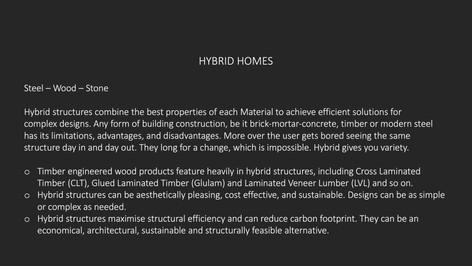 Hybrid Features