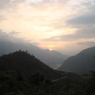 Sunset from Biyasi
