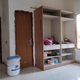 Bedroom cupboards.