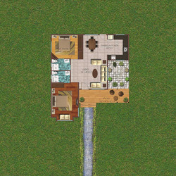 2 Bedroom 1048 sq ft