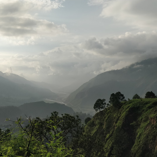Kosi river valley.
