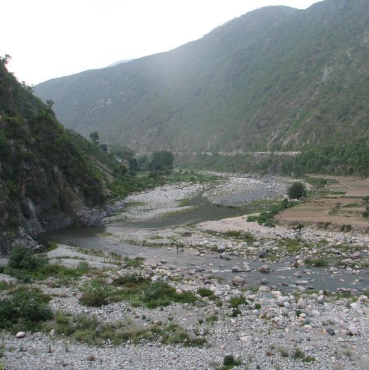 Kosi river.